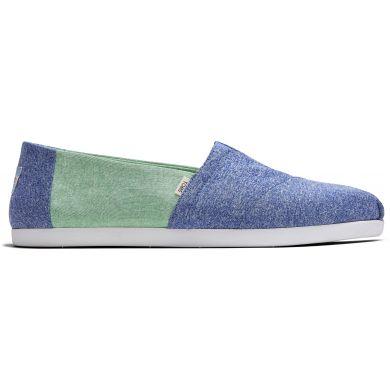 Pánské modro-zelené espadrilky TOMS Alpargata