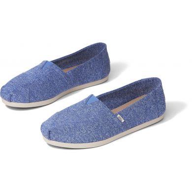 Dámské modré espadrilky TOMS Alpargata
