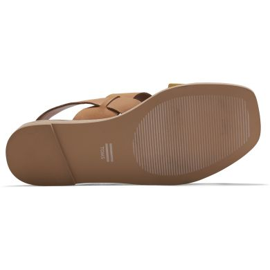 Dámské béžové kožené sandály TOMS Freya