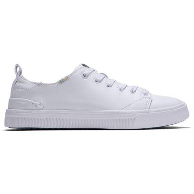 Dámské bílé kožené tenisky TOMS TRVL LITE Low