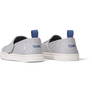 Dětské šedé slip-on TOMS Tiny Luca
