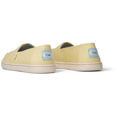 Dětské žluté espadrilky TOMS Youth Alpargata