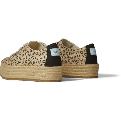 Dámské béžové tenisky s leopardím vzorem TOMS Cassiah