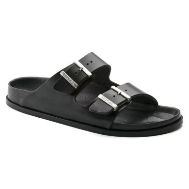 Černé pantofle Birkenstock Arizona Premium Leather