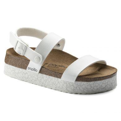 Bílé sandále Birkenstock Cameron Birko-Flor Marble