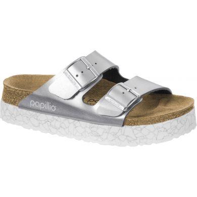 Stříbrné pantofle Birkenstock Arizona Birko-Flor Marble