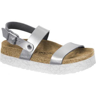 Stříbrné sandále Birkenstock Cameron Birko-Flor Marble