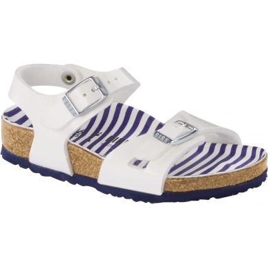 Dětské bílé sandály Birkenstock Rio Birko-Flor