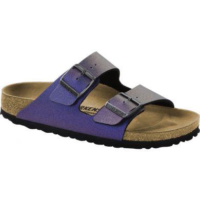 Fialové pantofle Birkenstock Arizona Birko-Flor