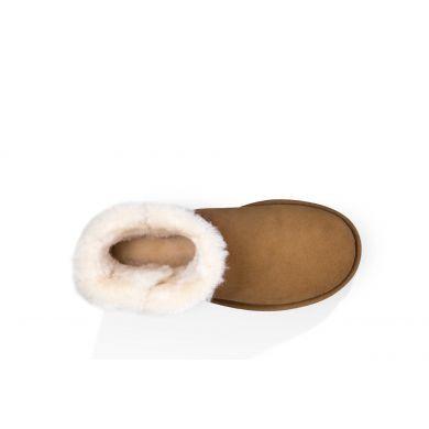 Boty UGG Mini Bailey Button II Chestnut