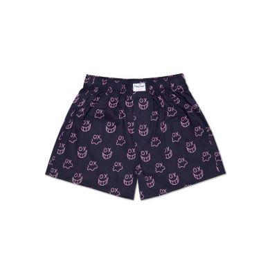 Černo-růžové trenýrky Happy Socks Mr. A // Kolekce André