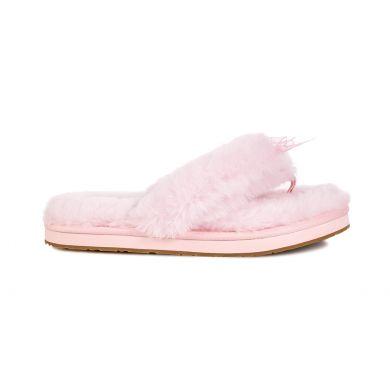 Boty UGG Fluff Flip Flop III Seashell Pink