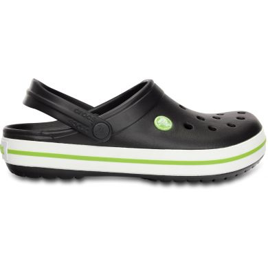 Crocband Onyx/Volt Green