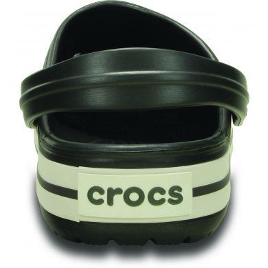 Crocband Graphite/White