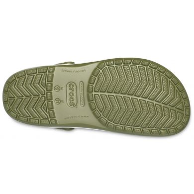 Crocband Army Green/White