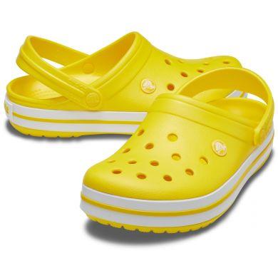 Crocband Lemon/White