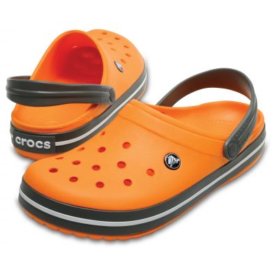 Crocband Blazing Orange/Slate Grey