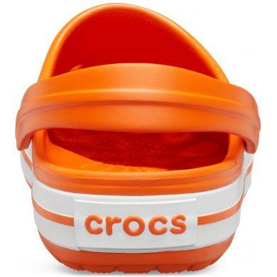 Crocband Orange/White