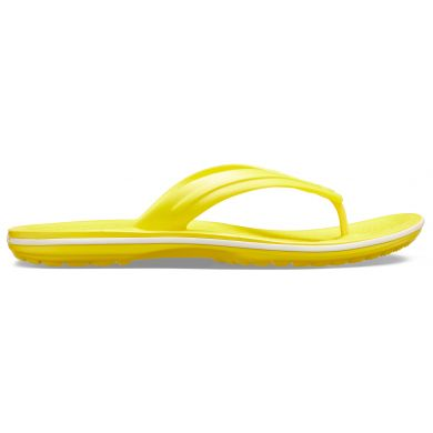 Crocband Flip  Lemon/White