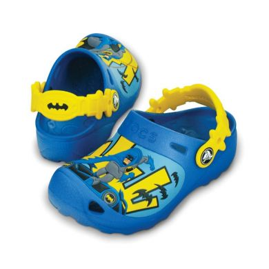 Caped Crusader Custom Clog
