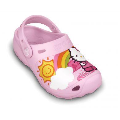 Hello Kitty Fun Rain Or Sun Custom Clog