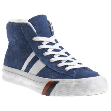 PRO-Keds Royal Plus Mid Suede Royal Blue