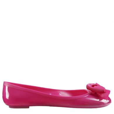 Jelly Ballerina Solid Flake Fuxia