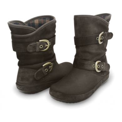 Berryessa Suede Buckle Boot