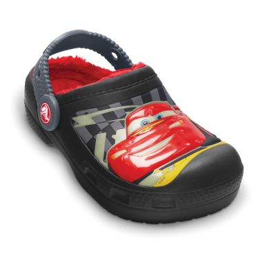 Cars Glow-in-the-Dark Lined Clog