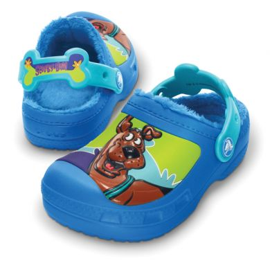 Scooby Doo Retro Wave Lined Clog
