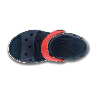 Crocband Sandal Kids Navy/Red
