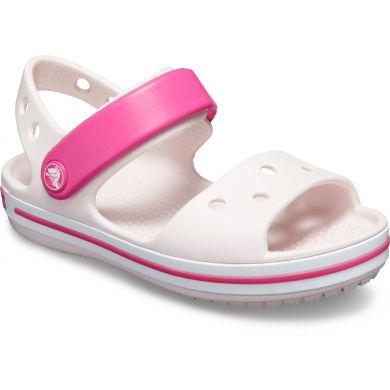 Crocband Sandal Kids Barely Pink/Candy Pink