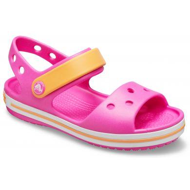 Crocband Sandal Kids Electric Pink/Cantaloupe