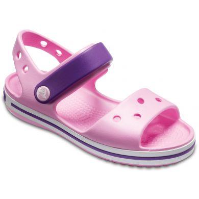 Crocband Sandal Kids Carnation/Amethyst
