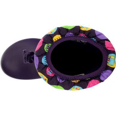 Crocband II.5 Gust Boot Hello Kitty Colorful Circles Kids