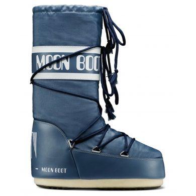 Dámské modré sněhule Moon Boot Nylon