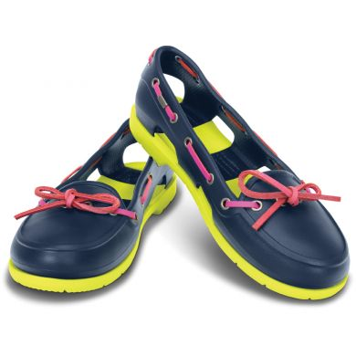 Beach Line Boat Shoe Women