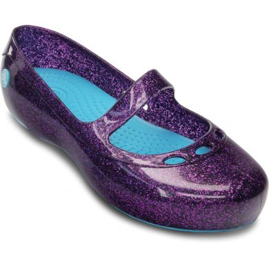 Carlisa Glitter Flat Girls