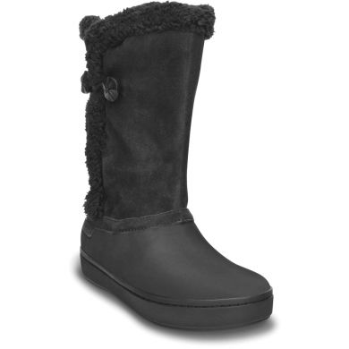 Modessa Suede Button Boot