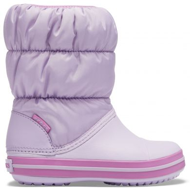 Winter Puff Boot Kids Lavender