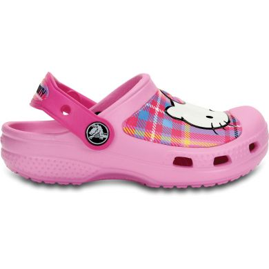 Hello Kitty Plaid Clog