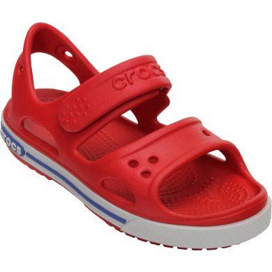 Crocband II Sandal Red/White