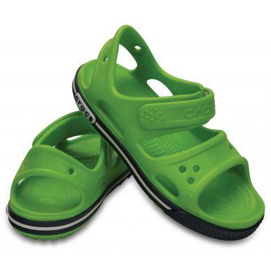 Crocband II Sandal Volt Green/Navy
