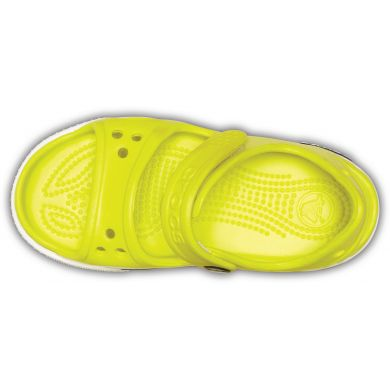 Crocband II Sandal Tennis Ball Green/White
