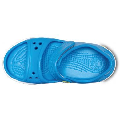 Crocband II Sandal Ocean/Tennis Ball Green