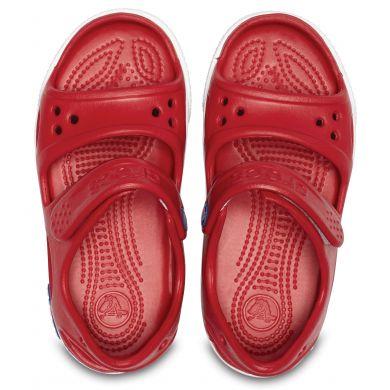 Crocband II Sandal Pepper/Blue Jean