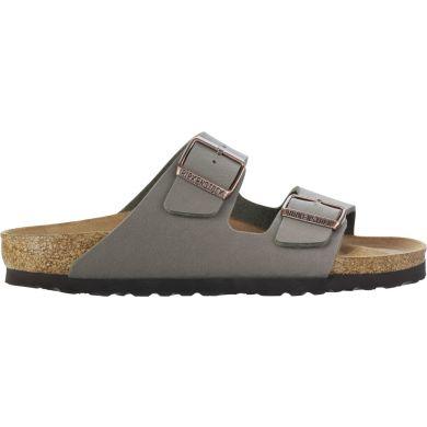 Hnědé pantofle Birkenstock Arizona Birko-Flor Nubuck