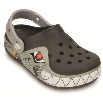 CrocsLights Robo Shark Clog