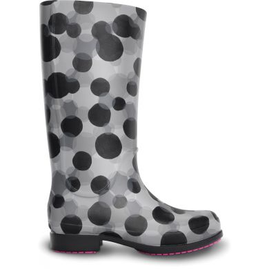 Women's Wellie Polka Dot Rain Boot