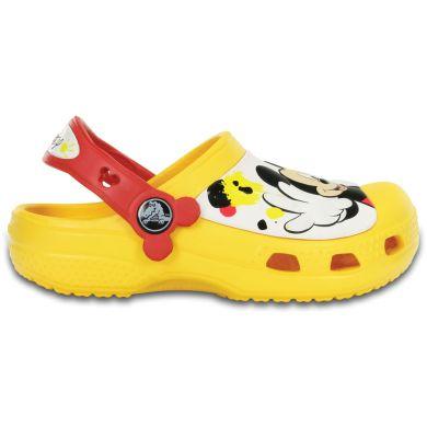 Mickey Paint Splatter Clog